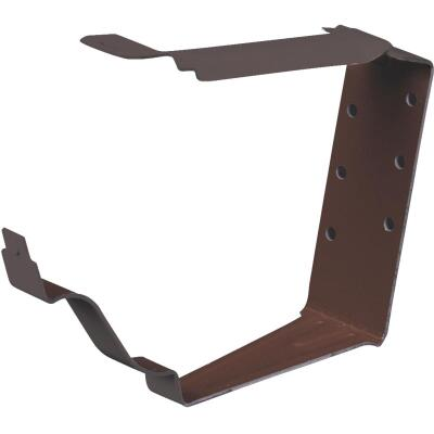 Spectra Metals K Style Aluminim Brown Snap-Lok Gutter Hanger Bracket, (4-Pack)
