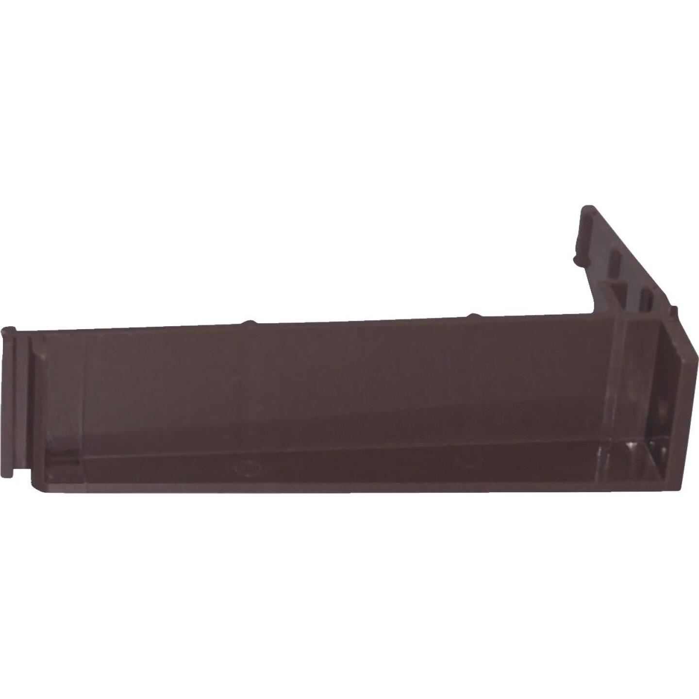 Repla K Vinyl Brown Gutter Hanger Bracket Image 1