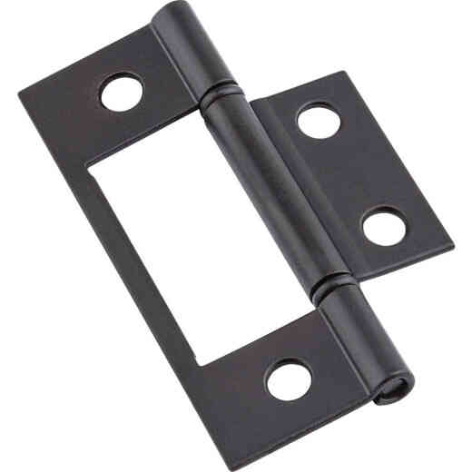 National Non-Removable Pin Surface Mount Oil Rubbed Bronze Bi-Fold Door Hinge