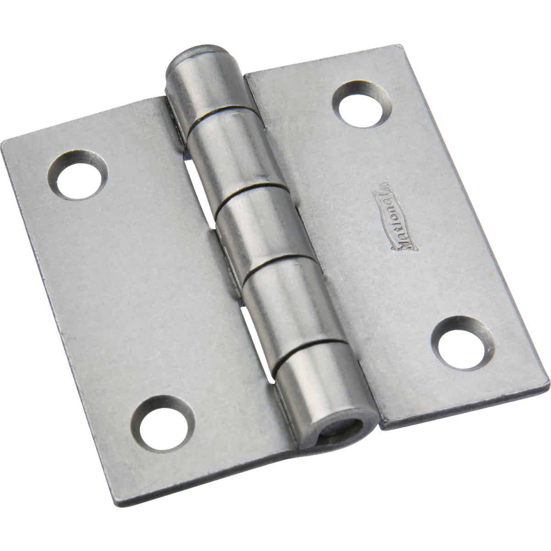 National 2 In. Square Plain Steel Broad Door Hinge Image 1