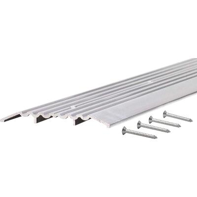 M-D Ultra 1/2 in. x 5 in. x 36 in. Mill Commercial Low Profile Fluted Saddle Threshold