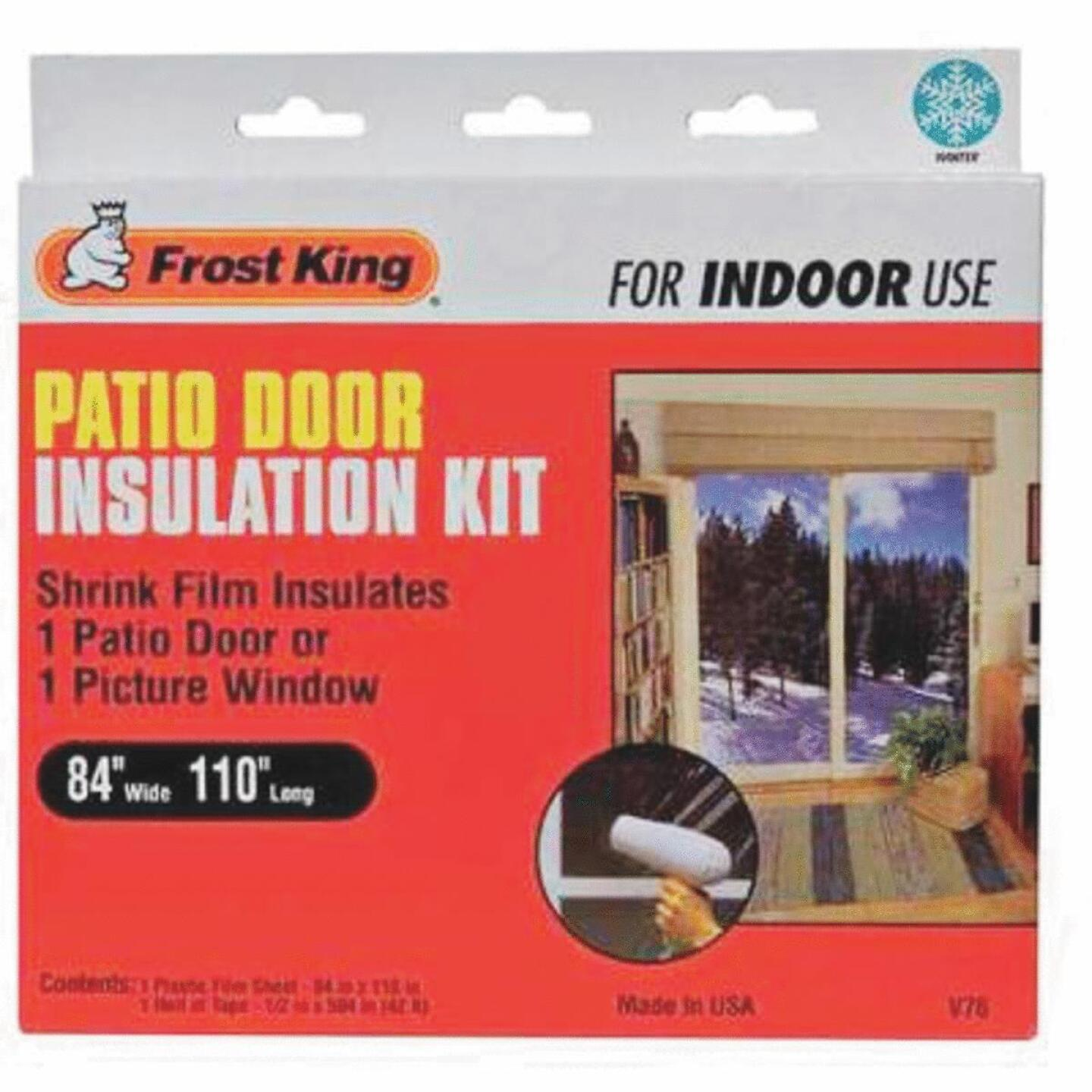 Frost King Indoor 84 In. x 110 In. Patio Door or Picture Window Insulation Kit Image 1