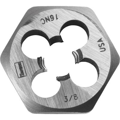 Irwin Hanson 3/8 In. - 16 NC Machine Screw Hex Die