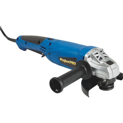 Project Pro 4-1/2 In. 10-Amp Angle Grinder