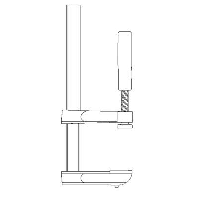 Do it 6 In. x 2-1/2 In. F-Style Bar Clamp