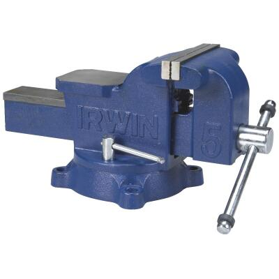 Irwin 5 In. Workshop Bench Vise