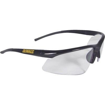 DeWalt Radius Black/Yellow Frame Safety Glasses with Clear Lenses