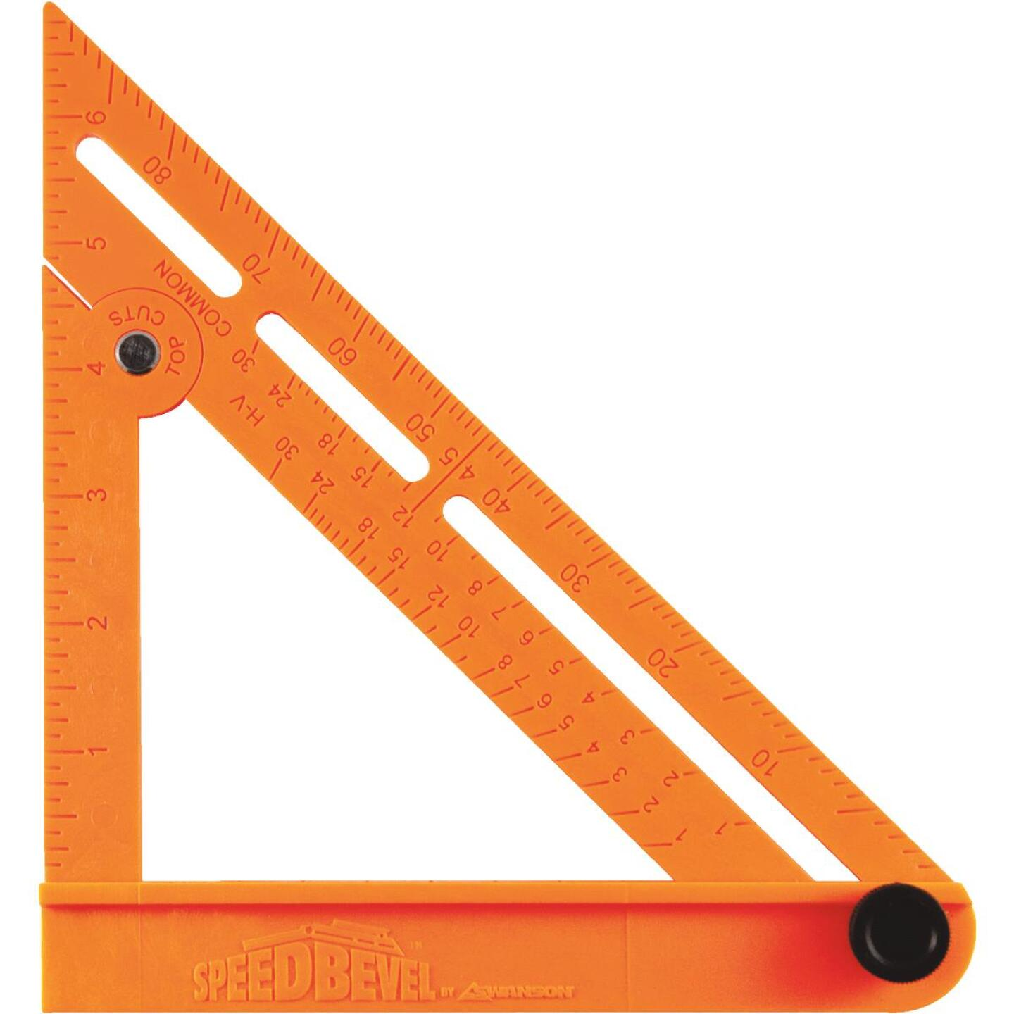 Swanson Speed Bevel 7 In. Plastic Folding Square and T-Bevel Image 1