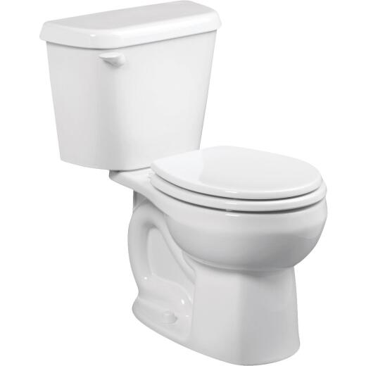American Standard Colony White Round Bowl 1.28 GPF Toilet-to-Go