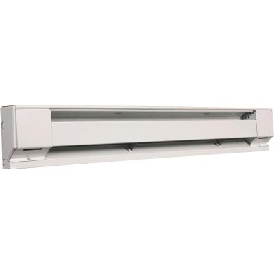 Fahrenheat 60 In. 1250-Watt 240-Volt Electric Baseboard Heater, Northern White