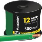 Southwire 500 Ft. 12 AWG Solid Green THHN Wire Image 1