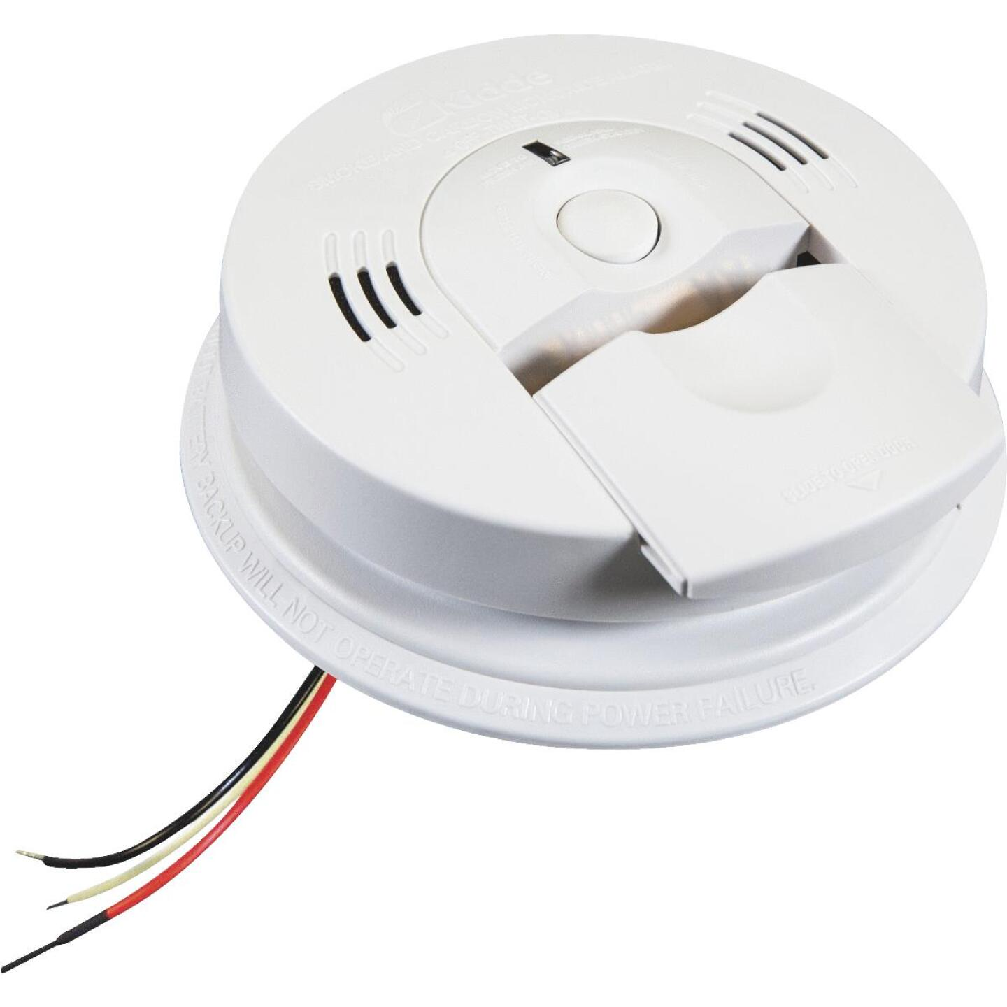 Kidde KN-COSM-IBA Hardwired 120V Electrochemical/Ionization Carbon Monoxide and Smoke Alarm Image 1