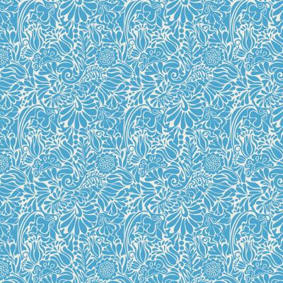 Con-Tact Creative Covering 18 In. x 9 Ft. Batik Blue Self-Adhesive Shelf Liner