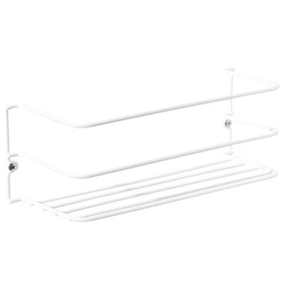 GraylineWhite Kitchen Cabinet Rack