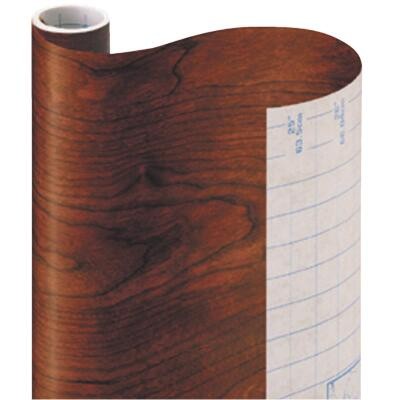 Con-Tact Creative Covering 18 In. x 9 Ft. Cherry Woodgrain Self-Adhesive Shelf Liner