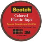 Scotch 3/4 In. Brown Colored Plastic Tape Image 1