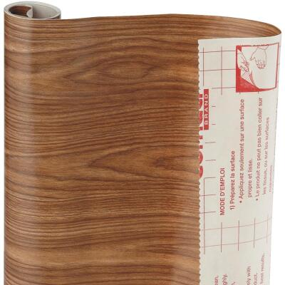 Con-Tact Creative Covering 18 In. x 9 Ft. Light Oak Self-Adhesive Shelf Liner