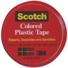 Scotch 1-1/2 In. Red Colored Plastic Tape Image 1