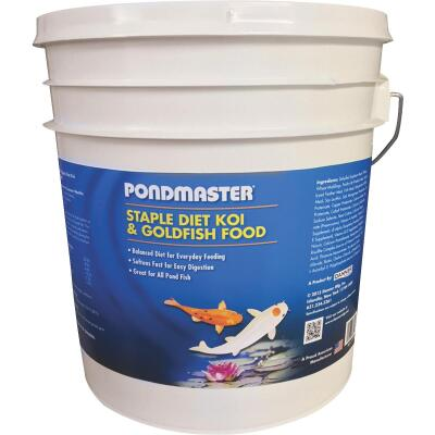 PondMaster 5 Lb. Staple Diet Koi & Goldfish Pond Fish Food