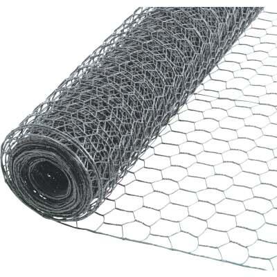 1 In. x 72 In. H. x 50 Ft. L. Hexagonal Wire Poultry Netting