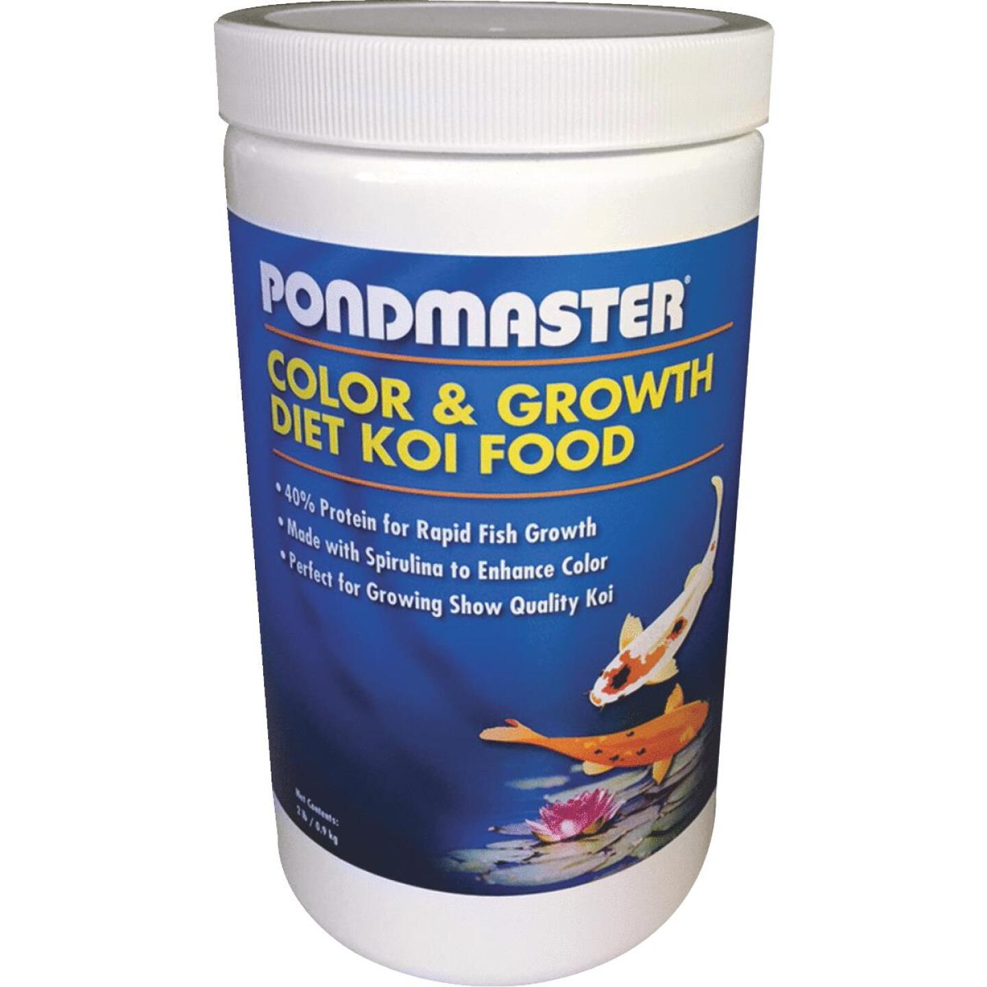 PondMaster 2 Lb. Color & Growth Diet Koi Pond Fish Food Image 1