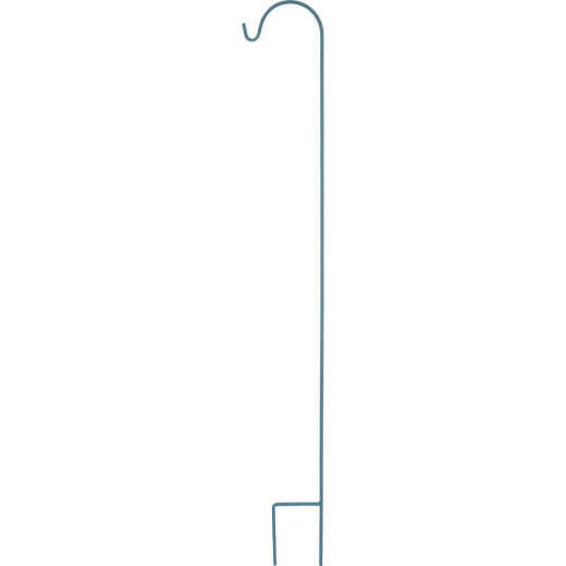 American GardenWorks UrbanGarden 90 In. Calvary Blue Single Hanger Shepherd Hook