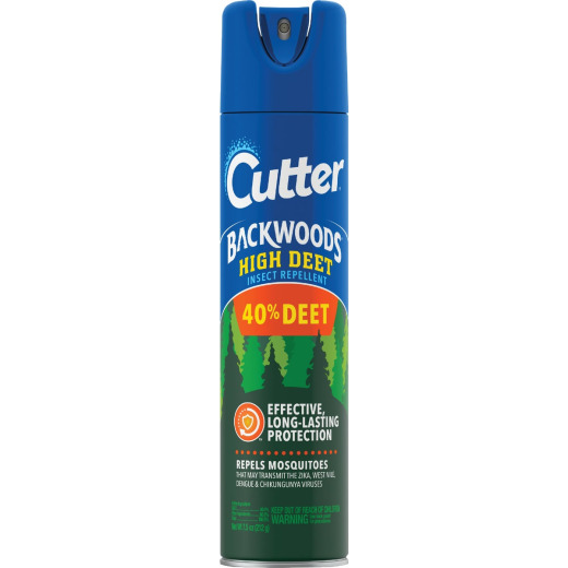 Cutter Backwoods High Deet 7.5 Oz. Insect Repellent Aerosol Spray