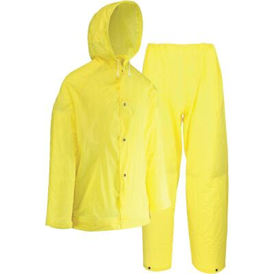 West Chester Large 2-Piece Yellow EVA Rain Suit