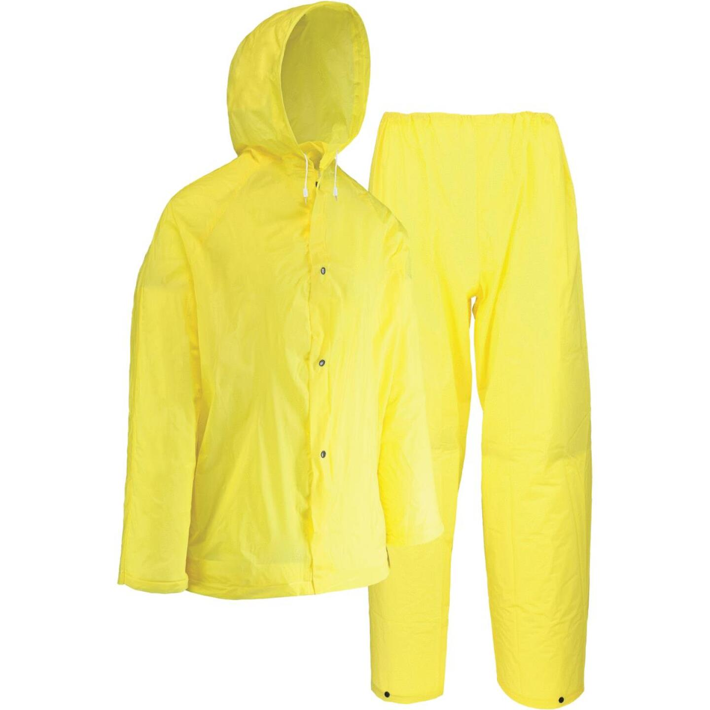 West Chester 2XL 2-Piece Yellow EVA Rain Suit Image 1