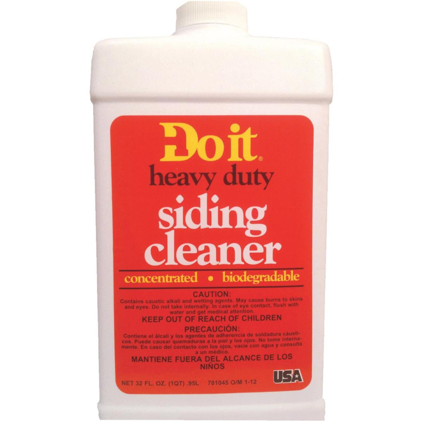 Do It Heavy-Duty Concentrated Siding Cleaner, 1 Qt. Image 1