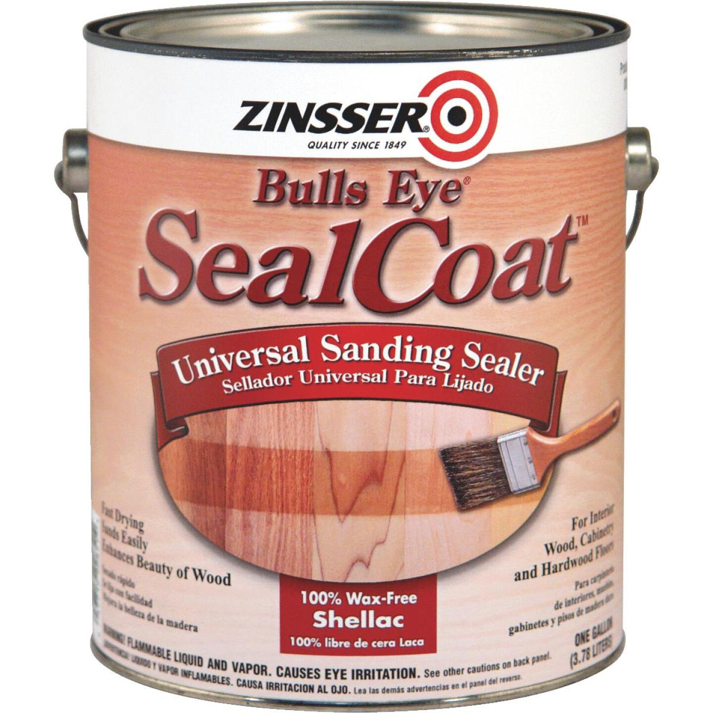 Bulls Eye SealCoat Sanding Sealer, 1 Gal. Image 1