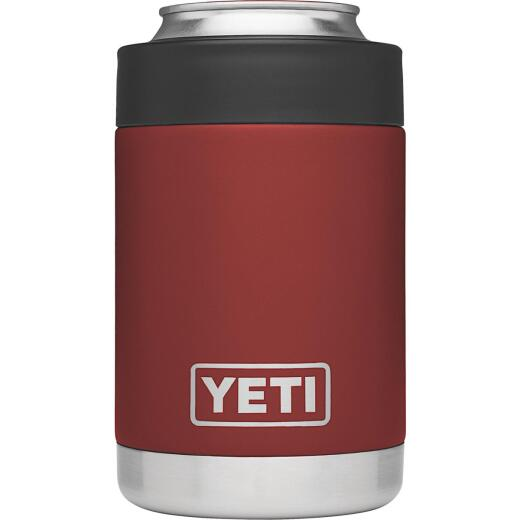 Yeti Rambler Colster 12 Oz. Brick Red Stainless Steel Insulated Drink Holder