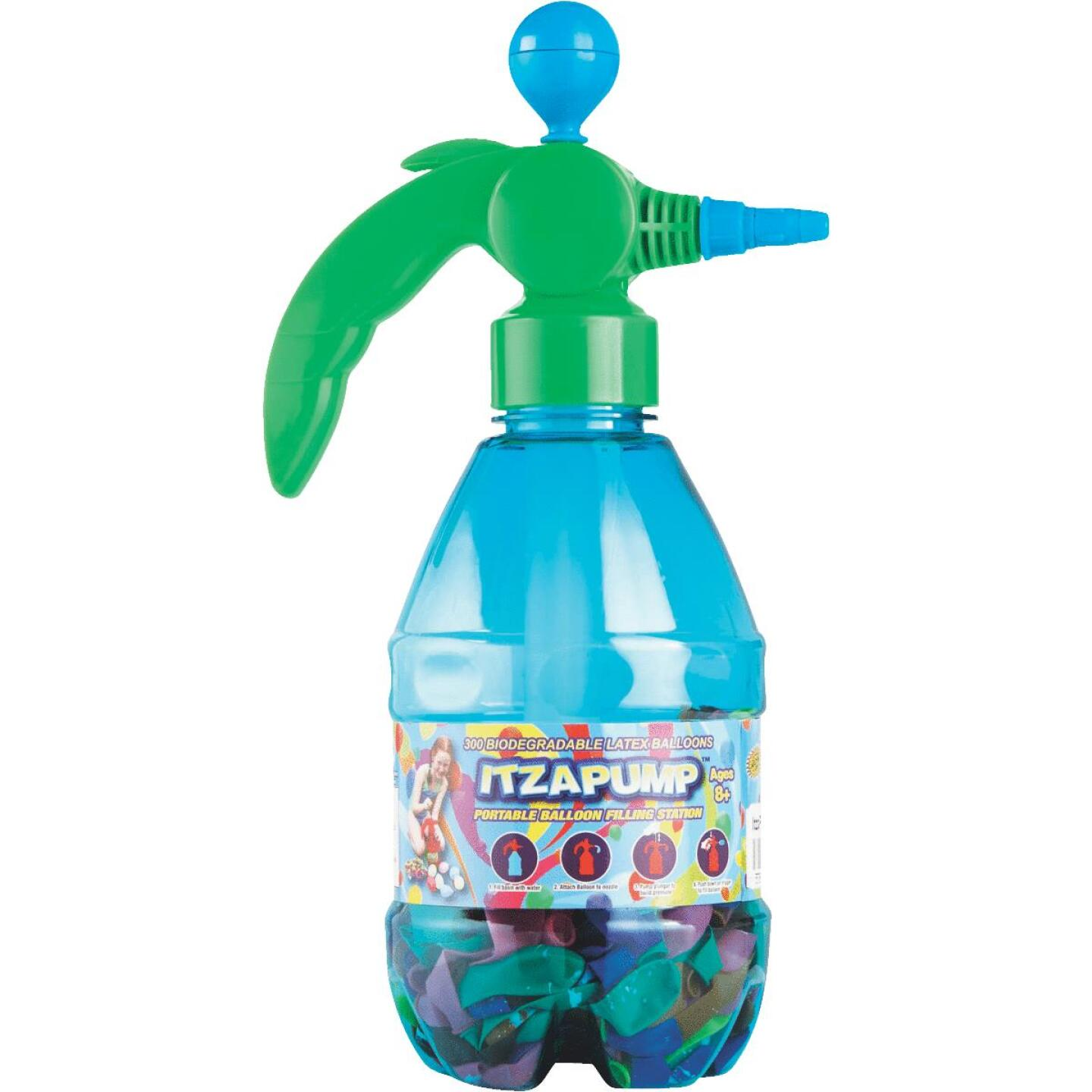 Water Sports ItzaPump Water Balloon Pump with 300 Balloons Image 2