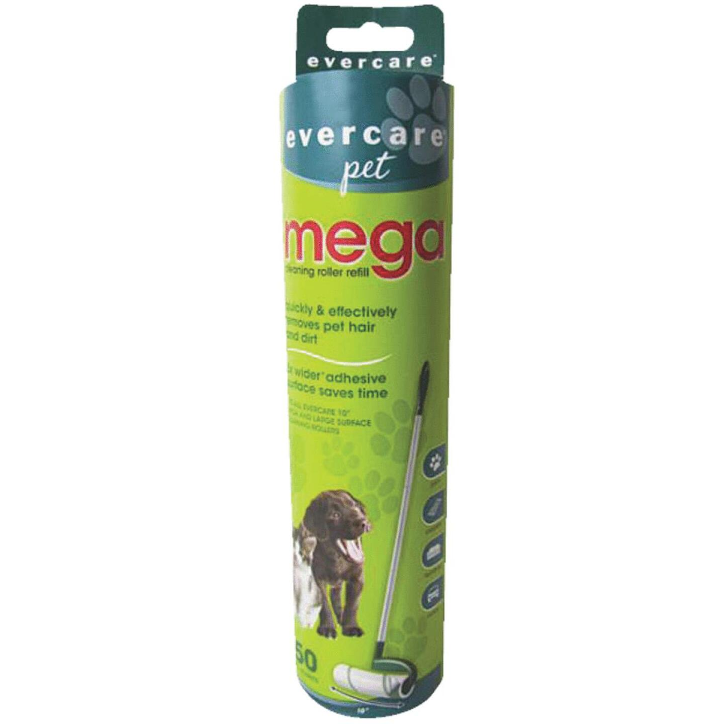 Evercare Pet 10 In. Mega Refill Roll Pet Hair Remover Image 1
