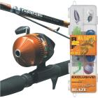 SouthBend Ready 2 Fish All Species 5 Ft. Fiberglass Fishing Rod & Spincast Reel Combo Image 1