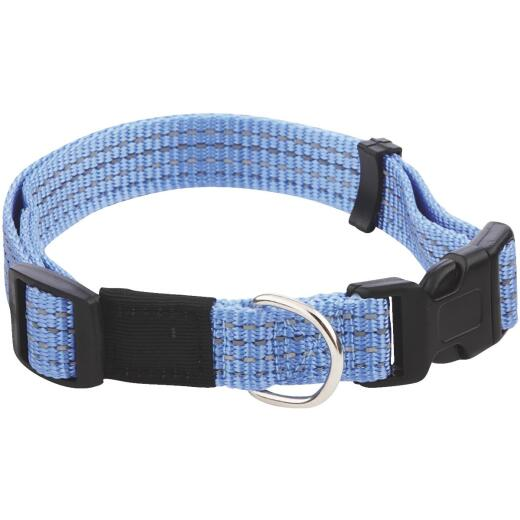 Westminster Pet Ruffin' it Reflective 14 In. to 20 In. Nylon Dog Collar